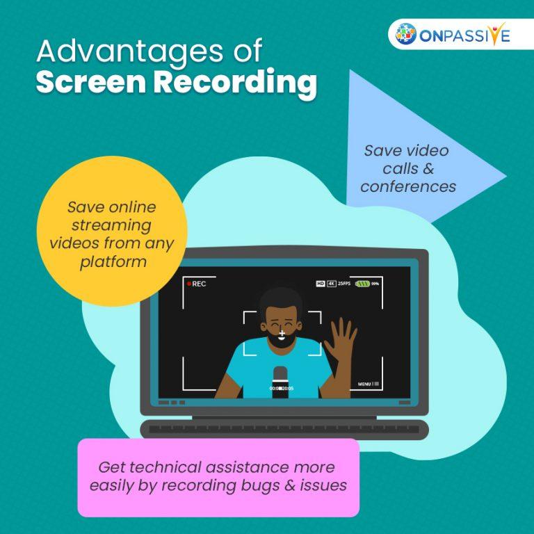 Benefits of Screen Recording