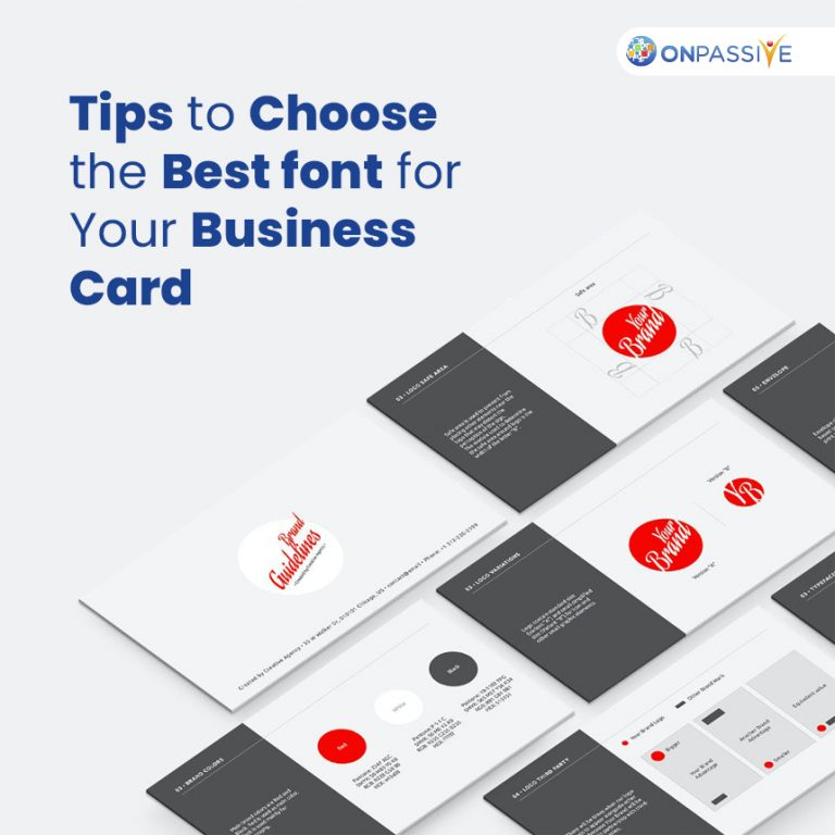 Best Font for Your Business Card