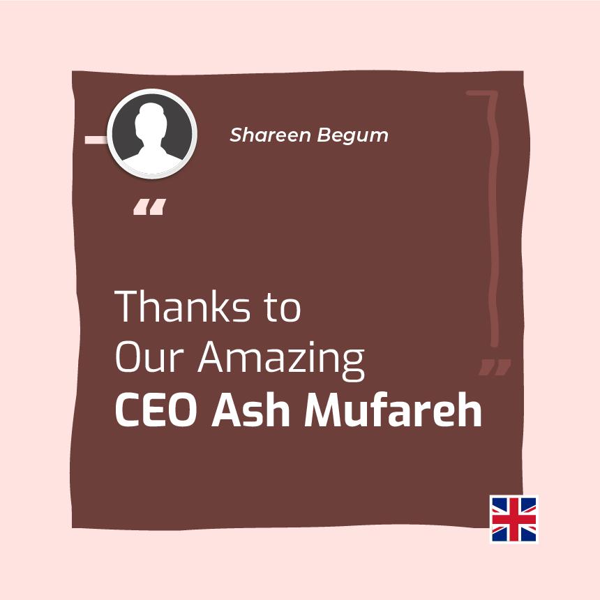 Shareen Begum ONPASSIVE Testimonial