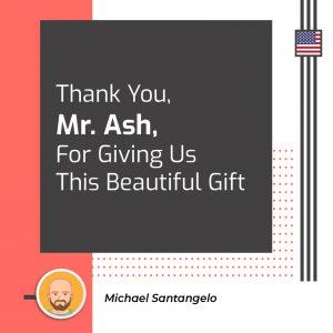 Thank You, Mr Ash