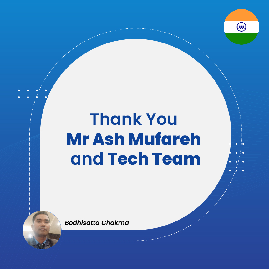 Thank You Mr Ash Mufareh