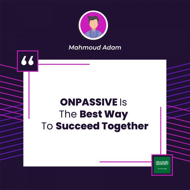 Onpassive gofounder testimonial