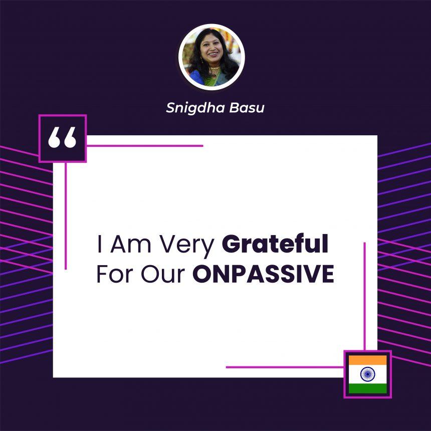 onpassive testimonial
