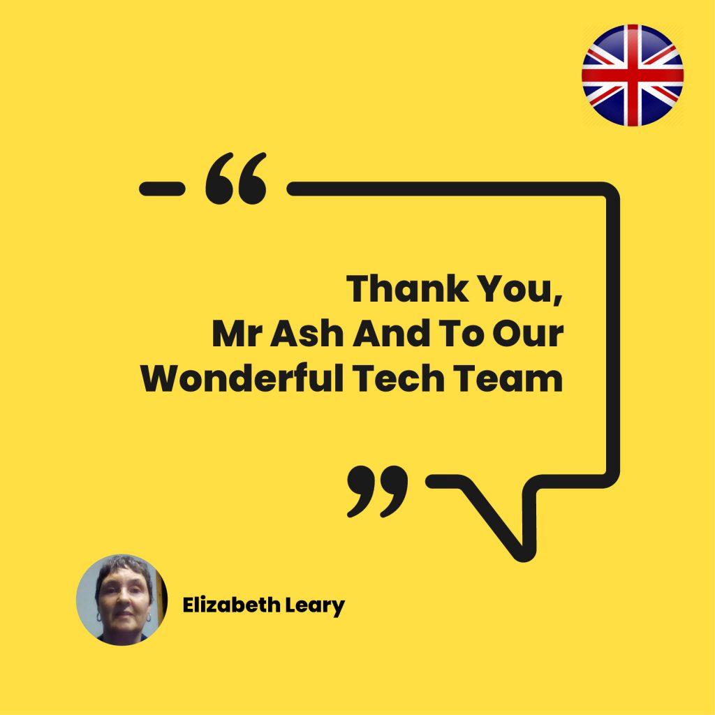 Thank you ash