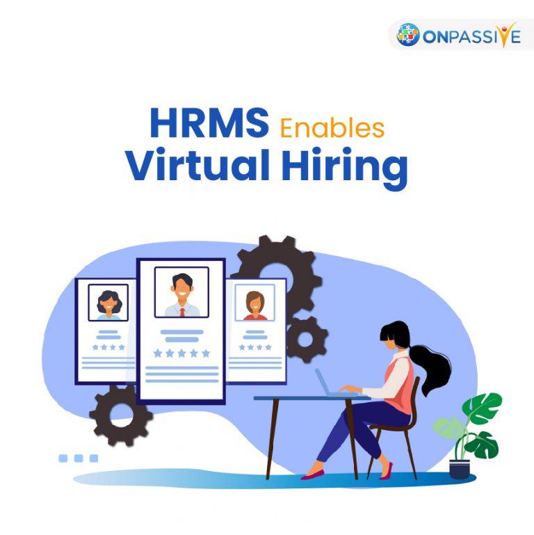 How HRMS Software Aids Virtual Hiring?