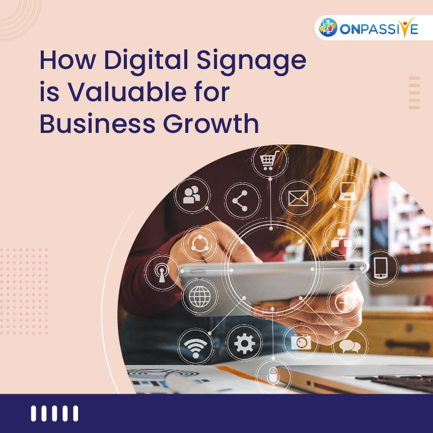 Digital signage technology
