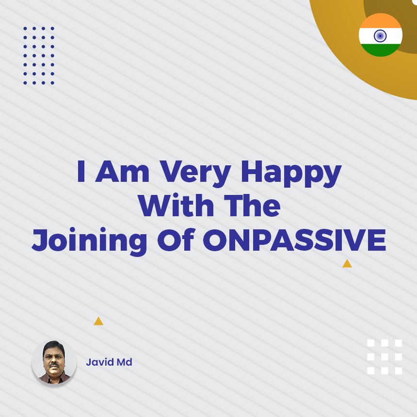 Good morning to all ONPASSIVE GoFounders & Ash Muferah, sir. I am very happy with the joining of ONPASSIVE. We Are In It To Win It.