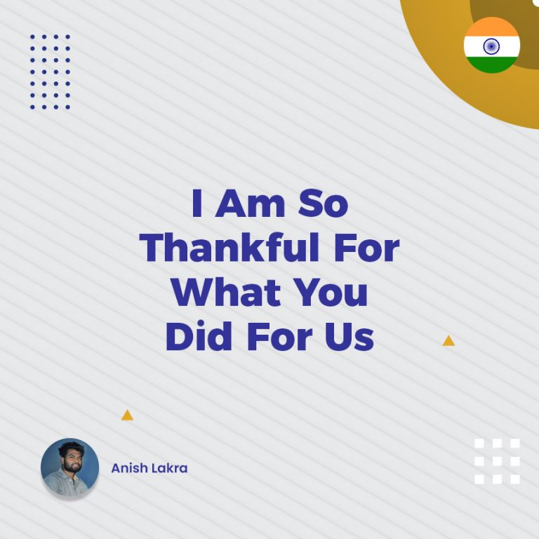 I AM SO THANKFUL FOR WHAT YOU DID FOR US - ONPASSIVE
