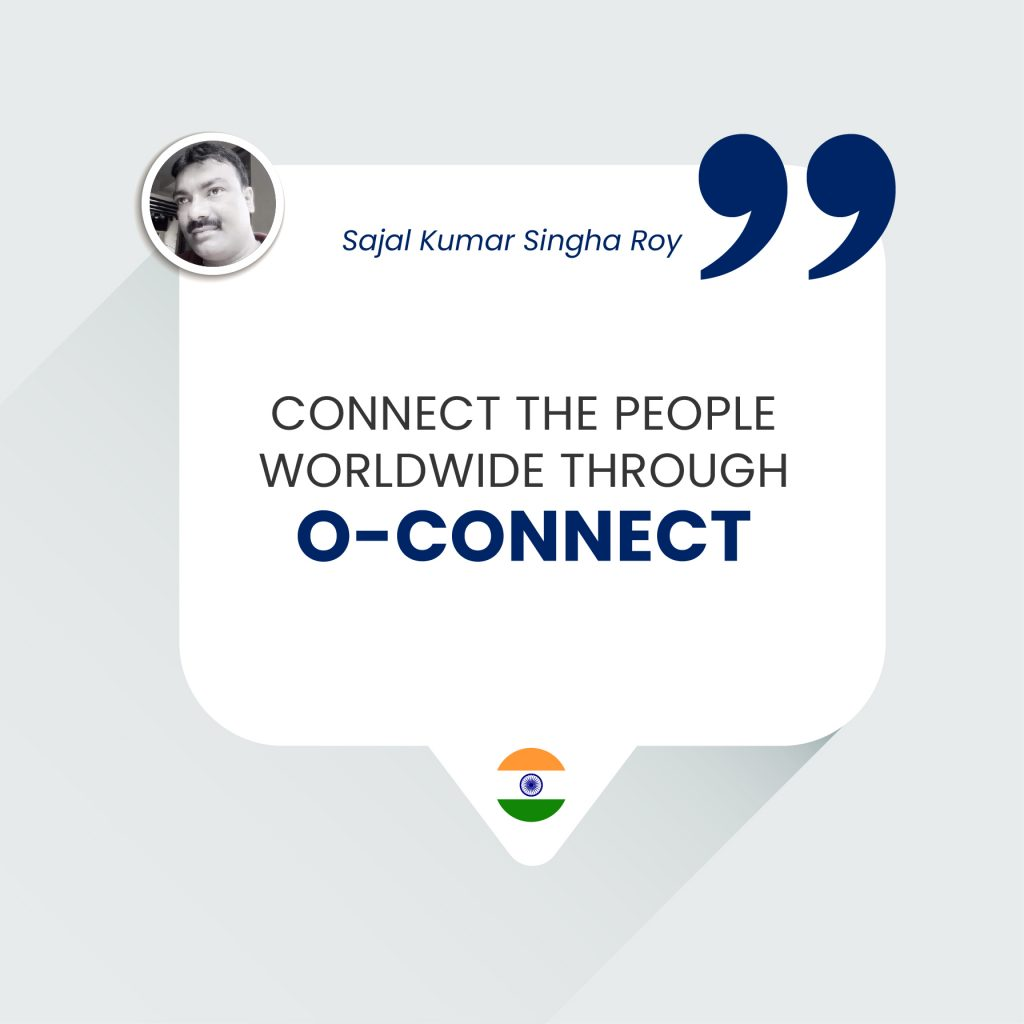 CONNECT THE PEOPLE WORLDWIDE THROUGH O-CONNECT